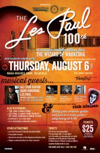 Les Paul 100th web ready RN poster